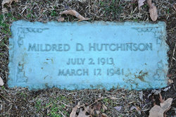 Mildred <I>Duryee</I> Hutchinson