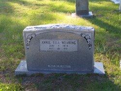 Annie Liza <I>Milton</I> Wearing