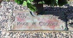 Rose M <I>Ruffles</I> Closser