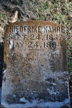 Friederike Kahre
