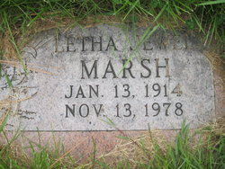 Letha Jewel Marsh