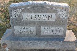 Harold O Gibson