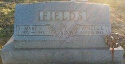 Mary E Fields