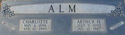 Arthur H Alm