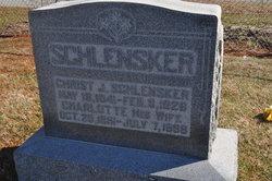 Charlotte <I>Gocker</I> Schlensker