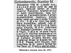 Stanley Mark Golombowski