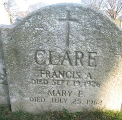 Francis A Clare