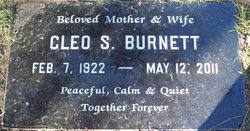 Cleo S Burnett