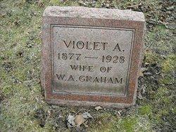 Violet A. <I>Ehlman</I> Graham