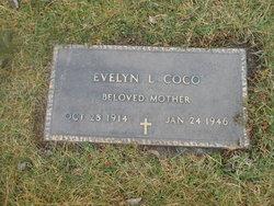 Evelyn L. <I>Evans</I> Coco