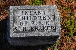 Infants of A & C Schlensker