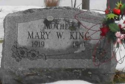 Mary W. King