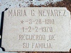 Maria G Nevarez
