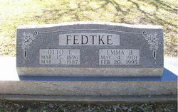 Emma Bertha <I>Hug</I> Fedtke