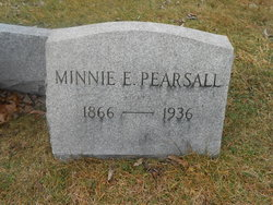 Minnie E. <I>Ozenbaugh</I> Pearsall