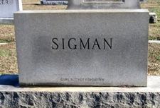Dr Frederick Grant Sigman, Sr