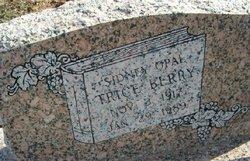 Sidney Opal <I>Mize</I> Trice Berry