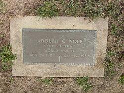 Adolph C Wolf