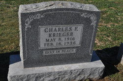 Charles F Krieger