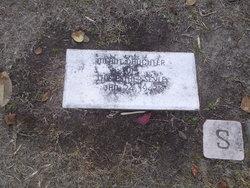 Infant daughter of J.H. & Esther Seyle