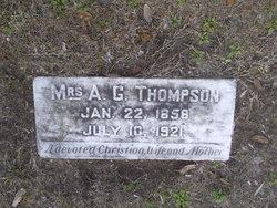 Valeria <I>Beasley</I> Thompson