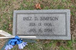 Inez D Simpson