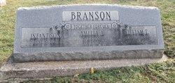 Amelia A. <I>Woolen</I> Branson