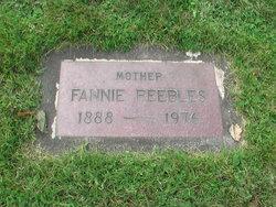 Fannie <I>Ward</I> Peebles