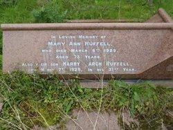 Mary Ann Ruffell
