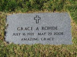 Grace A Rohde
