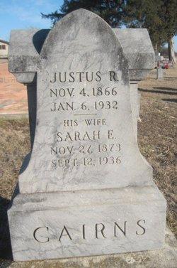 Justus R Cairns