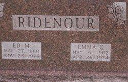 Edward Monore Ridenour