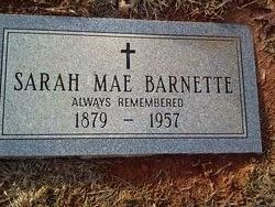 Sarah Mae Barnett