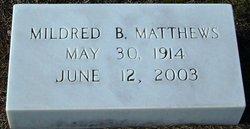 Mildred <I>Benton</I> Matthews