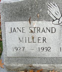 Jane <I>Little</I> Strand Miller