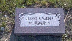 Jeanne Ruth <I>Fifield</I> Warder