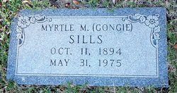 "Myrtle M ""Gongie"" <I>Tullar</I> Sills"