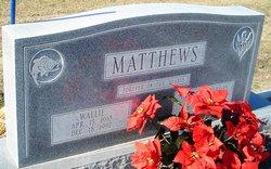 Wallie Matthews