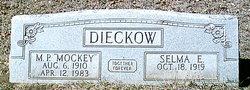 "Malcolm Paul ""Mockey"" Dieckow, Sr"