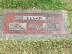 Gertrude Jane <I>Knox</I> Lesan