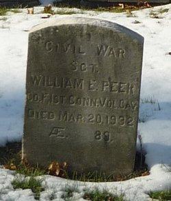 Sgt William E Peer