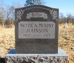 Nettie A. <I>Standridge</I> Johnson