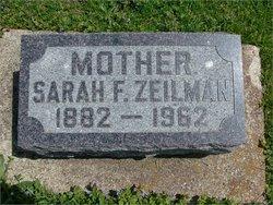 Sarah F <I>Shaw</I> Zeilman