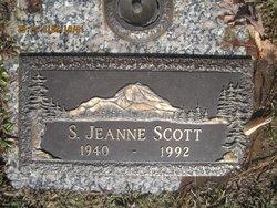 Sara Jeanne <I>Victor</I> Scott