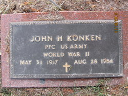 John H Konken