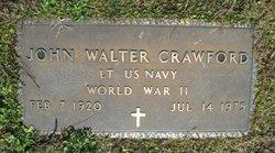 Lieut John Walter Crawford