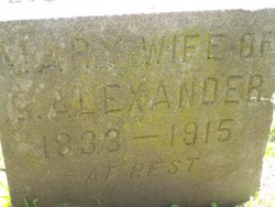 Mary Ann <I>Pruyne</I> Alexander