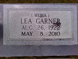 Mamie Lea <I>Smitherman</I> Garner