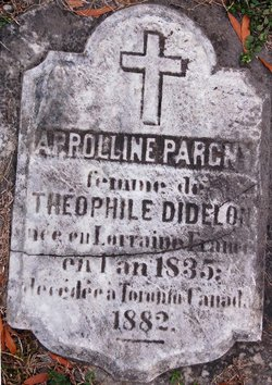 Appolline <I>Parcny</I> Didelon