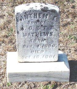 Santhem E. Matthews